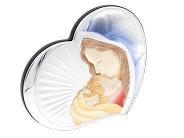 Obrazek Serce Matka Boska z Dzieciątkiem DEDYKACJA