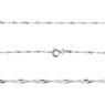 Srebrny medalik z Matką Boską Częstochowską, pozłacaną i łańcuszkiem / pr. 925 / Grawer / różowa kokardka  7
