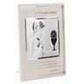 Srebrny obrazek chłopiec pamiątka na I Komunię Św. Grawer 2