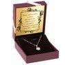 Złoty Wisiorek Koniczynka pr. 585 Grawer 2