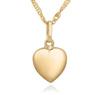 Złoty Wisiorek Serce Łańcuszek 333 URODZINY GRAWER różowa kokardka 1